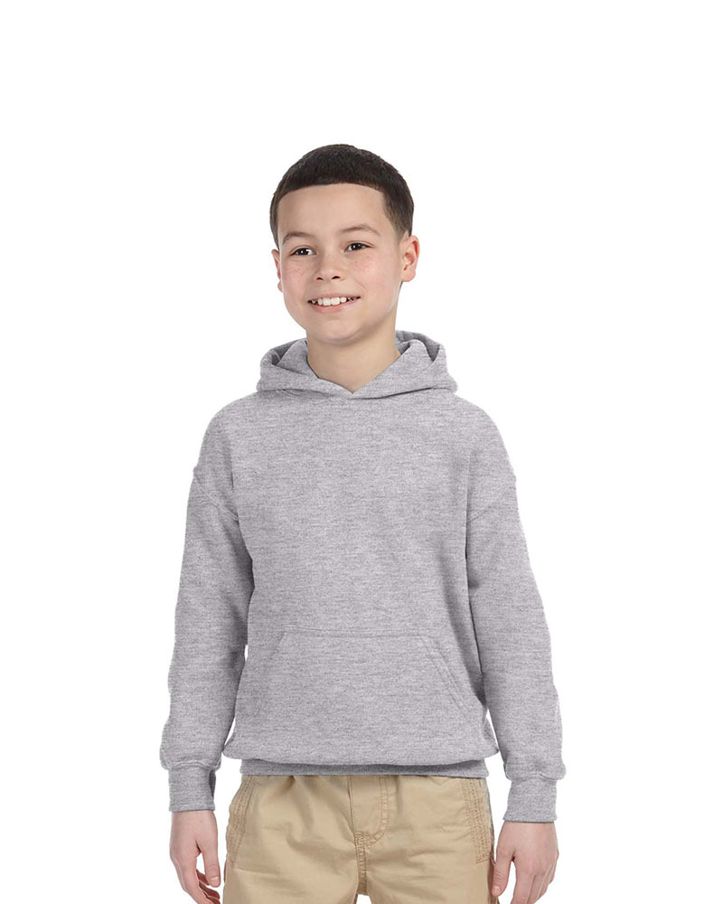 Printed Gildan Youth Hooded Sweatshirt