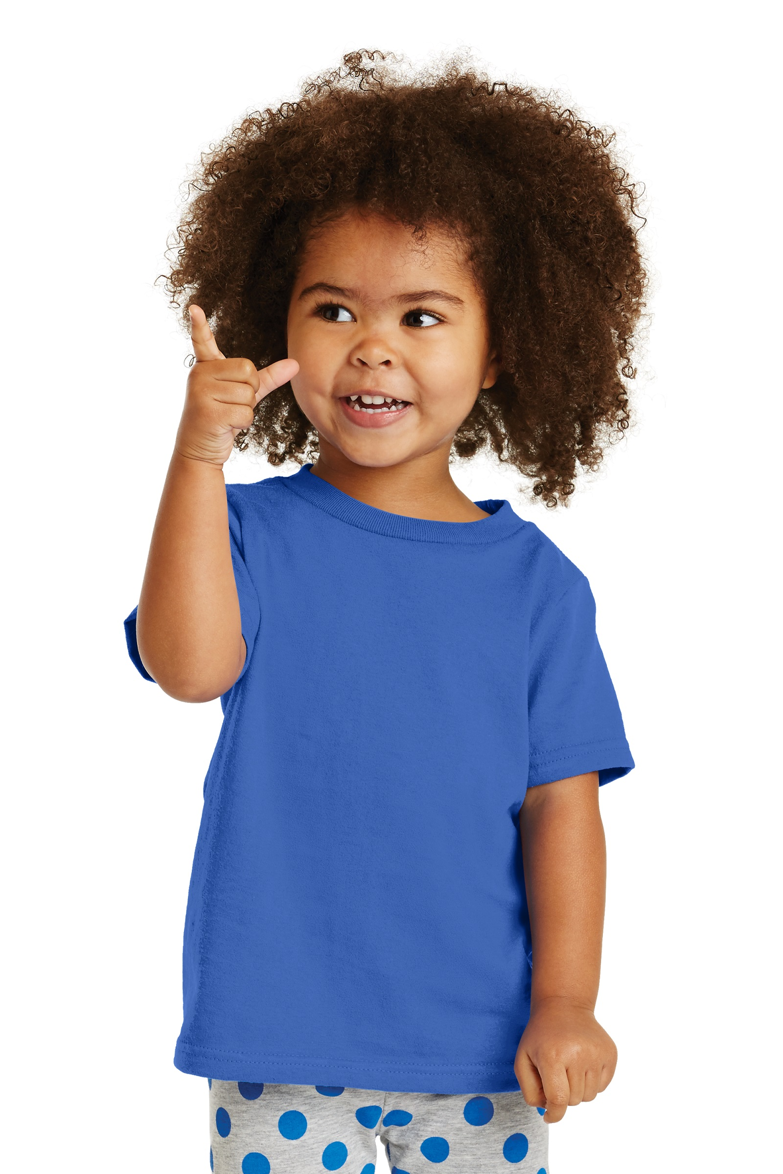 Port & Company Embroidered Toddler  Cotton Tee