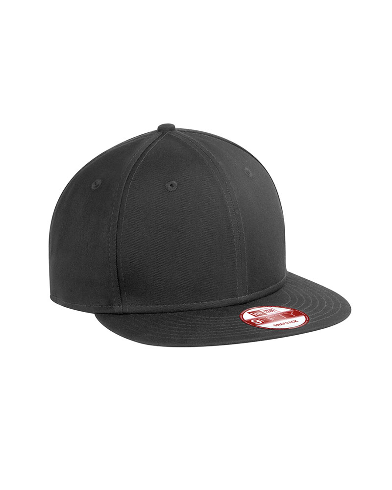 New Era Embroidered Flat Bill Snapback Cap db3ccf954b8