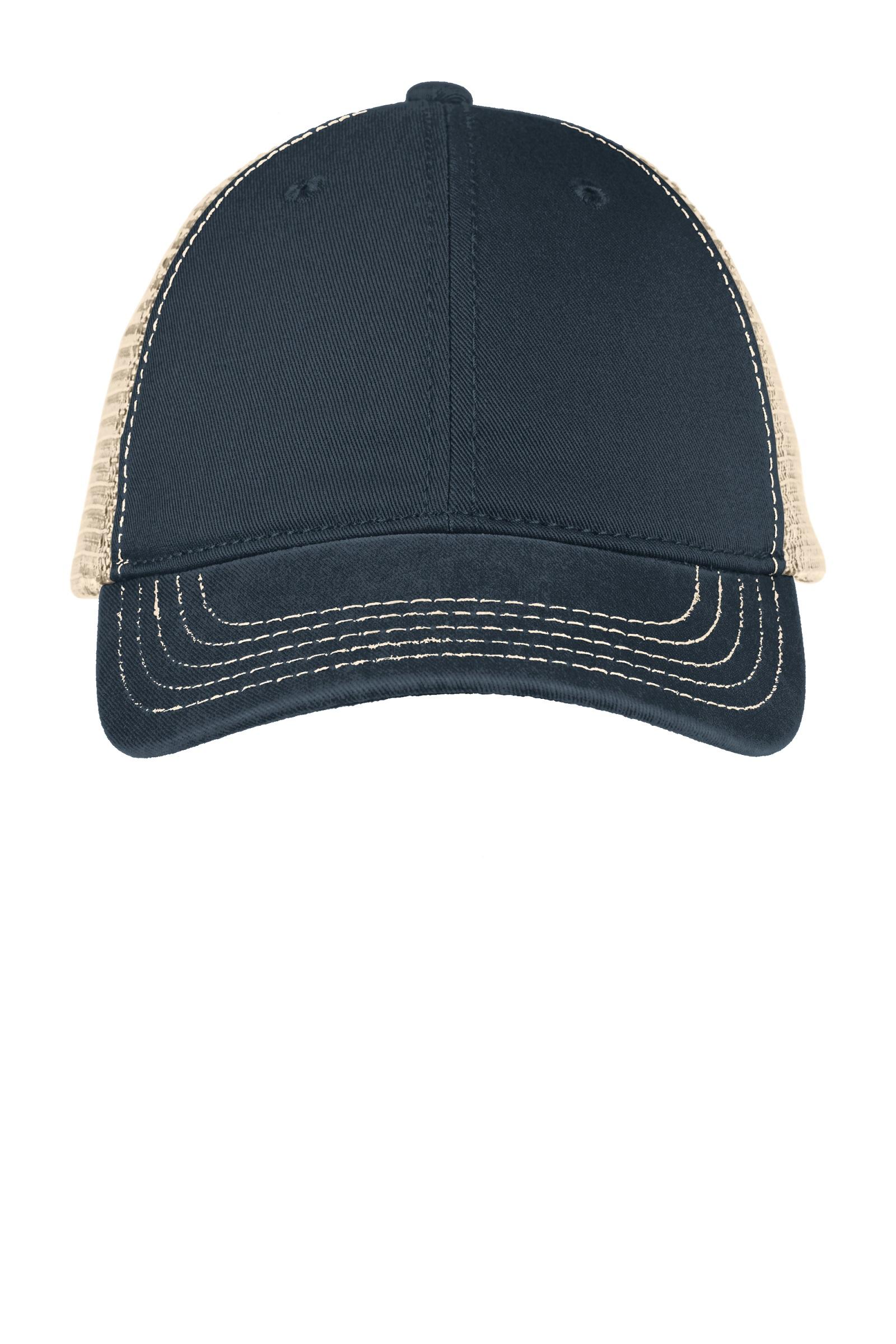 District  Embroidered Super Soft Mesh Back Cap