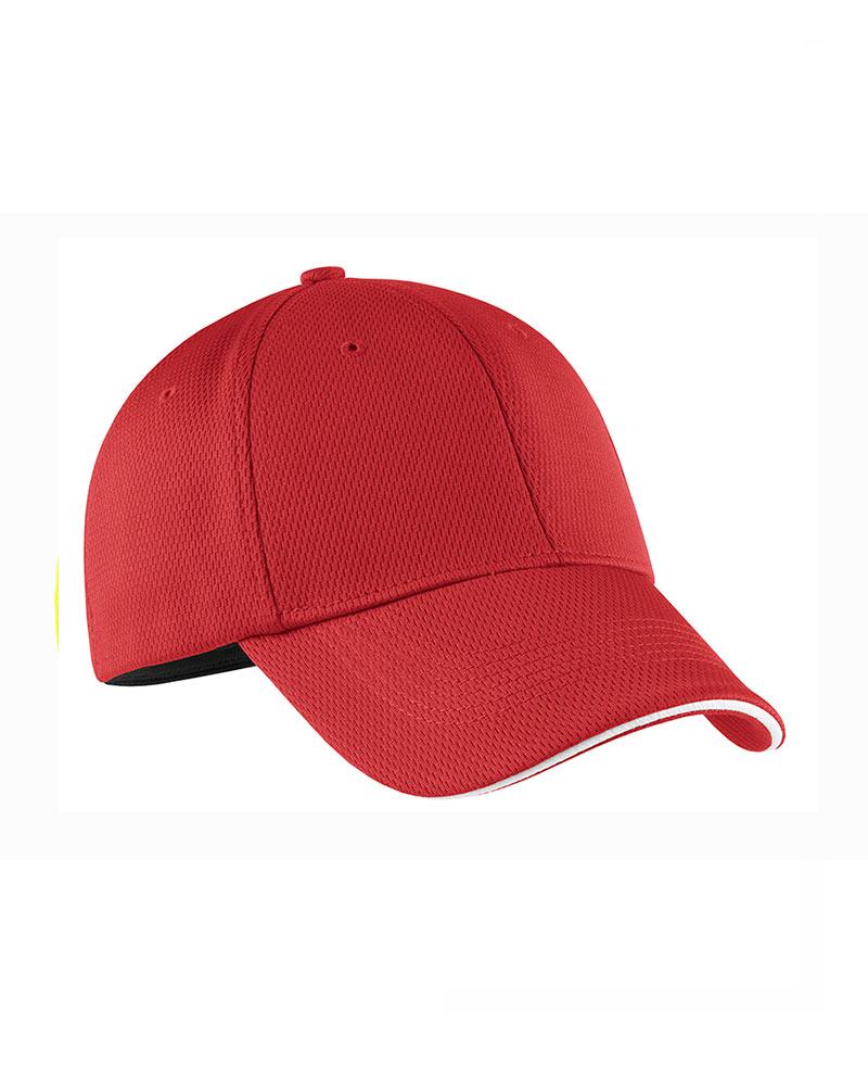 Nike Golf  Embroidered DriFIT Mesh Swoosh Flex Sandwich Cap