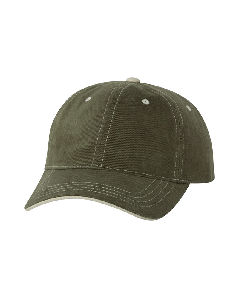 YuPoong Contrast Color Stitched Cap