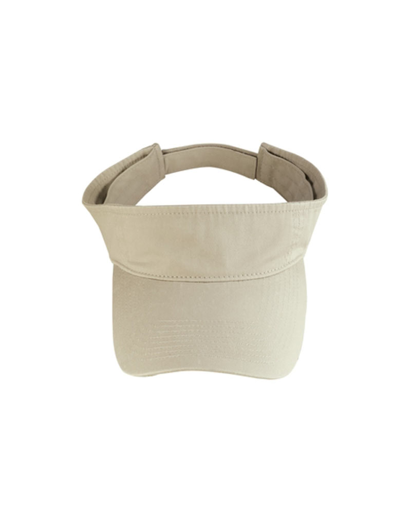 Port & Company  Embroidered Washed Twill Visor