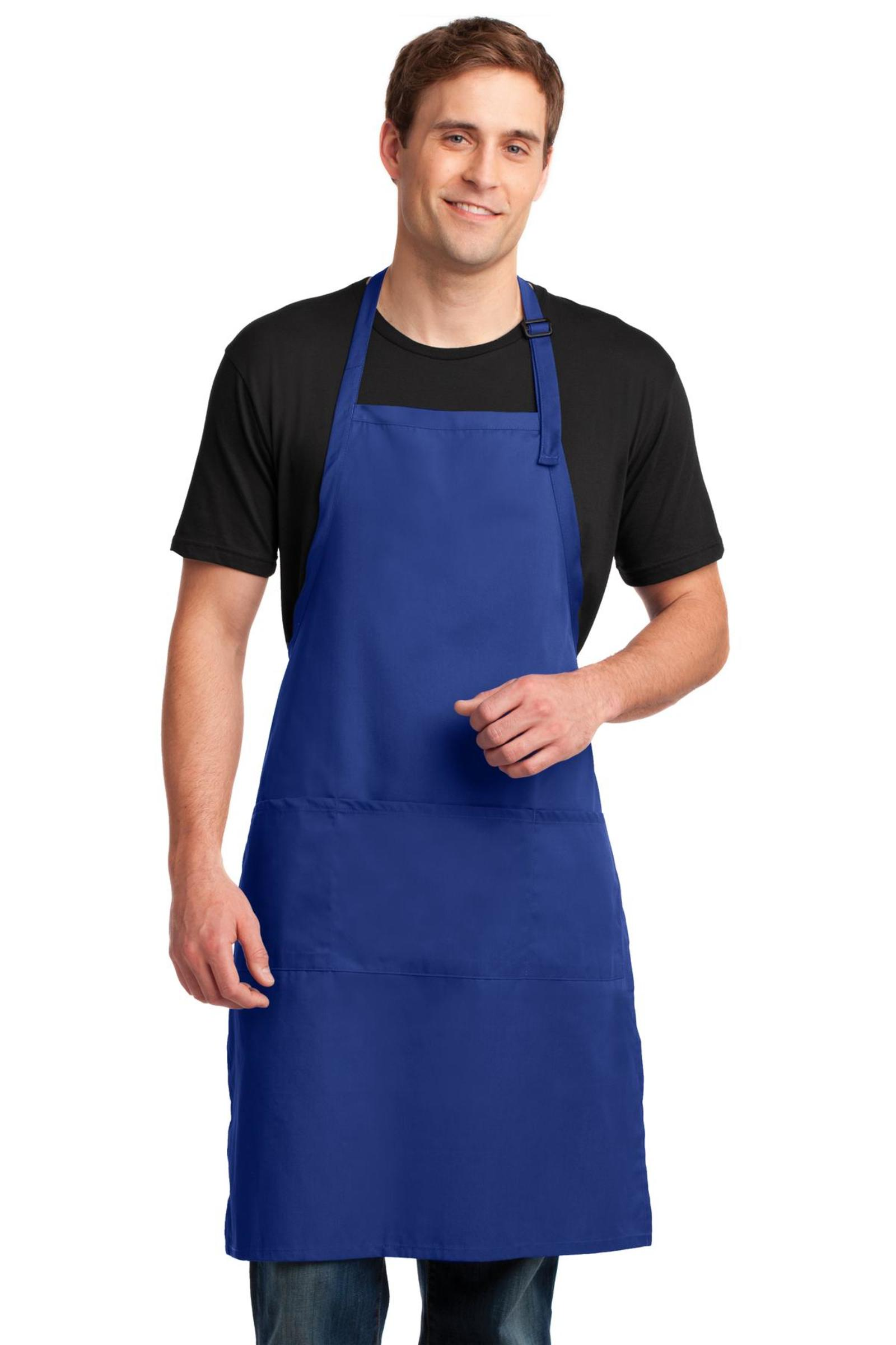 Port Authority Embroidered Easy Care Extra Long Bib Apron