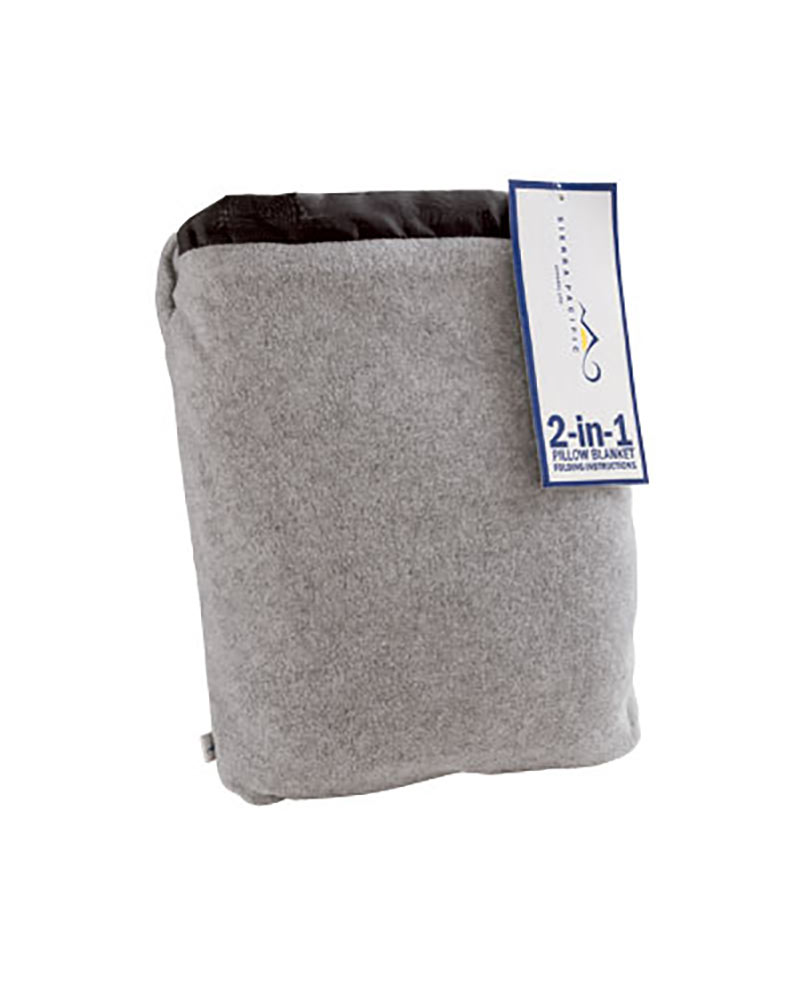 Sierra Pacific 2-in-1 Fleece Blanket/Pillow