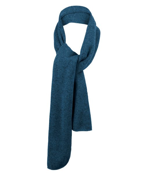 Port Authority Heathered Knit Fleece Scarf