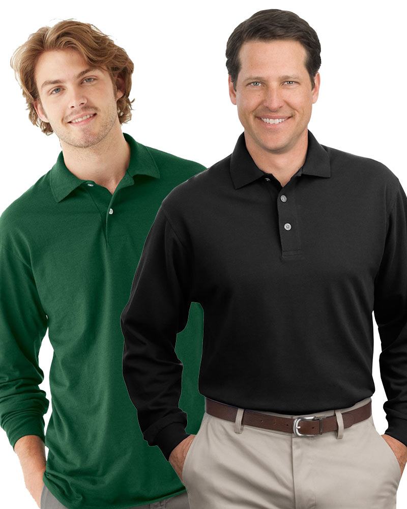 Men's Premium Long Sleeve Polo Grab Bag