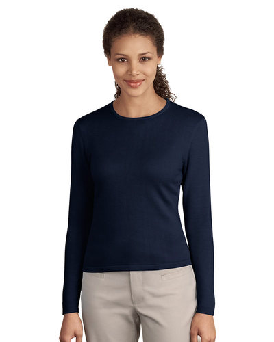 Embroidered Women's Long Sleeve Knit Grab Bag