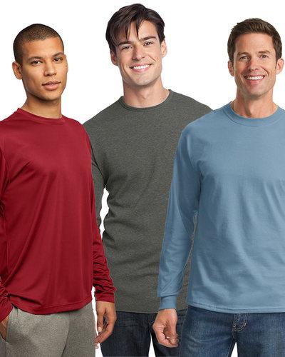 Embroidered Men's Long Sleeve Tee Grab Bag