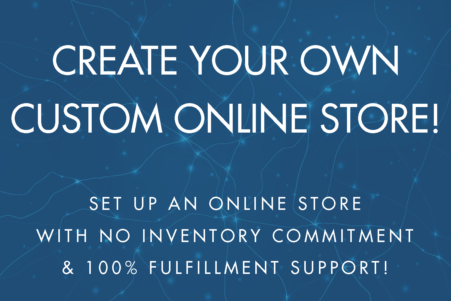 Create Your Own Custom Online Store