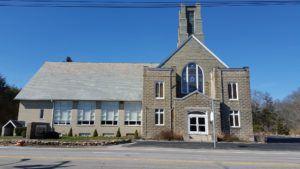 Quidnessett Baptist Church, main building