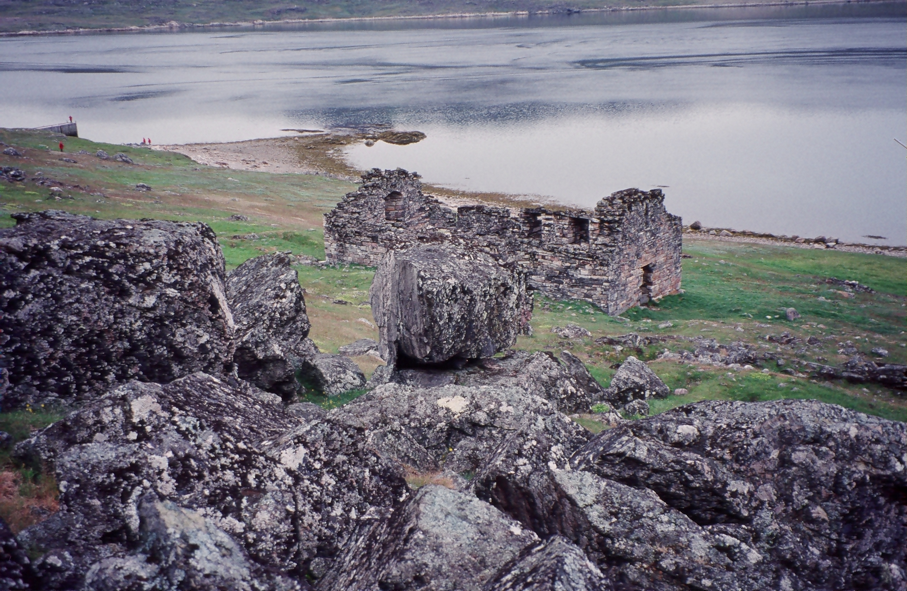 Visit fascinating historic sites like the Hvalsey Church, Greenland.