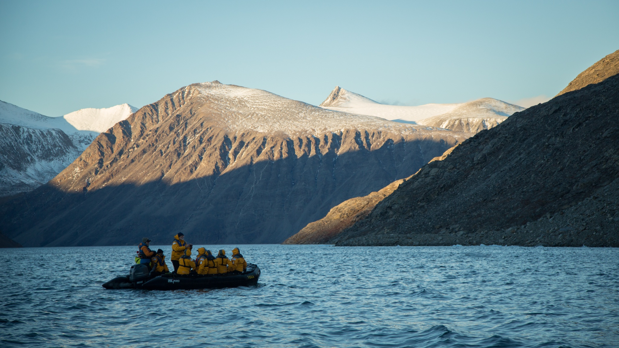 Sunneshine Fjord, Baffin Island