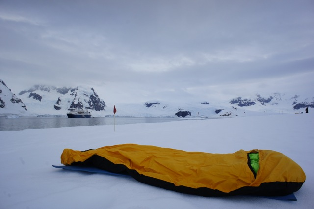 Camping in Antarctica is unlike anywhere else on earth.