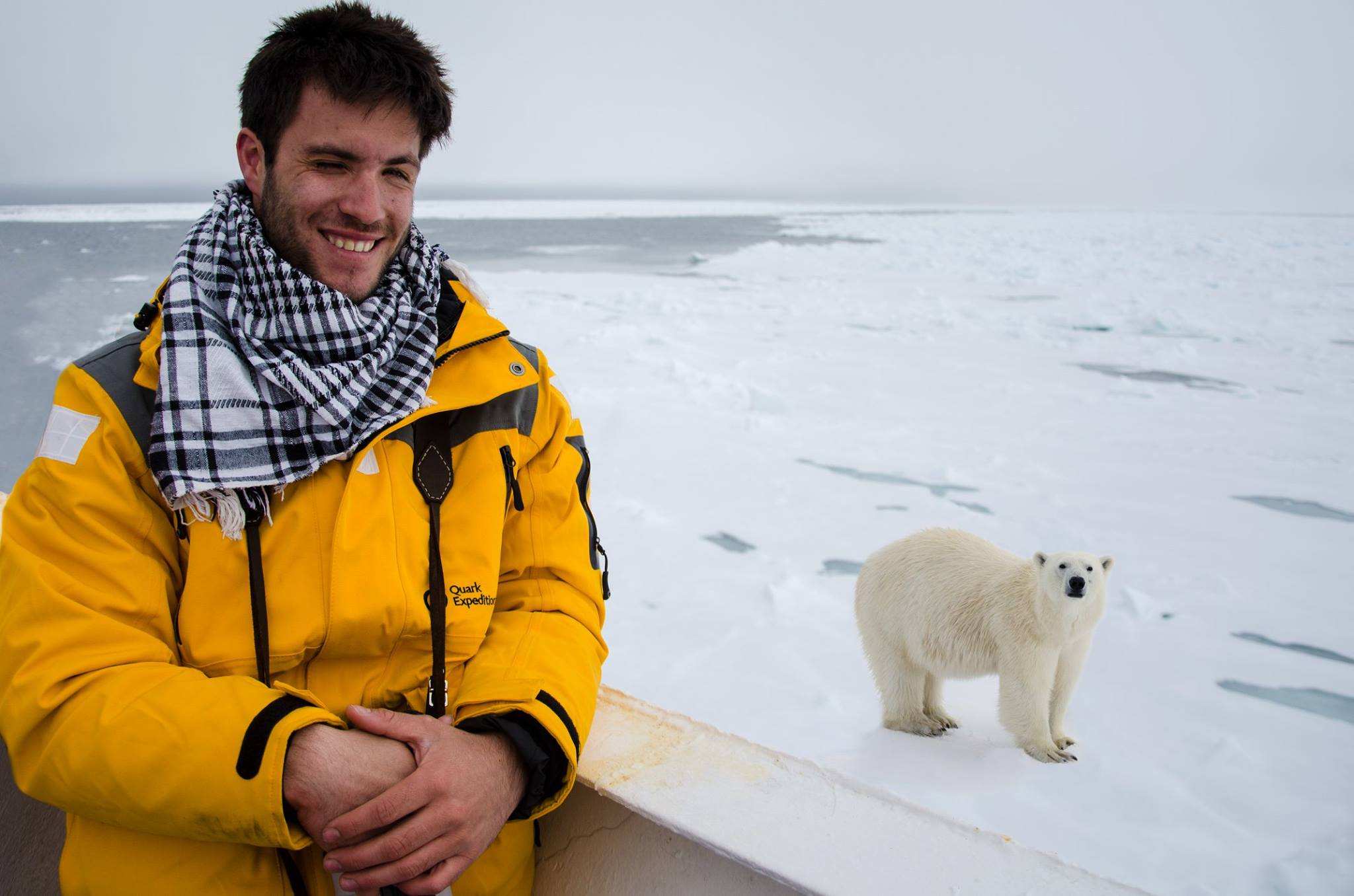Harry Skeggs has won accolades for his polar photography.
