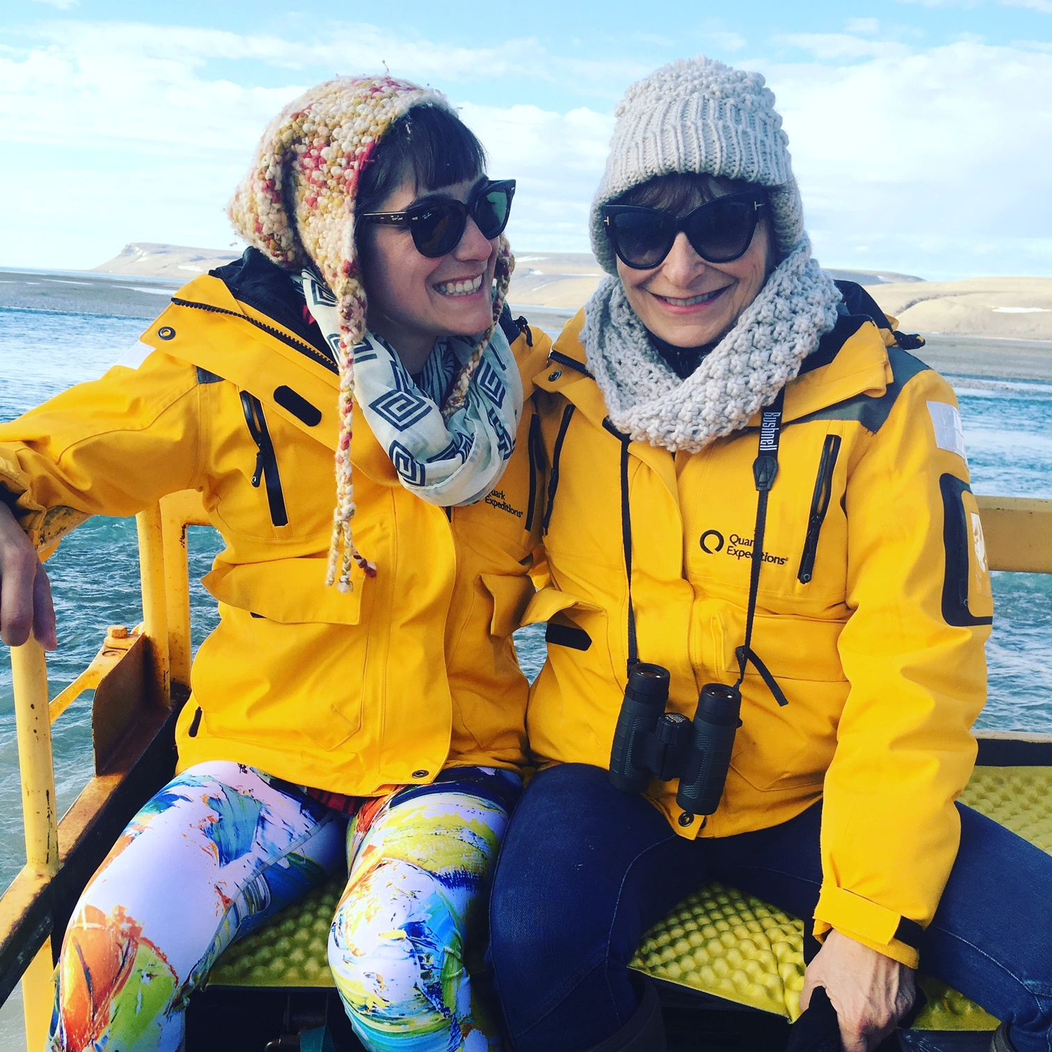 Jeanne Becker & Daughter- Arctic Watch-Family_Travel