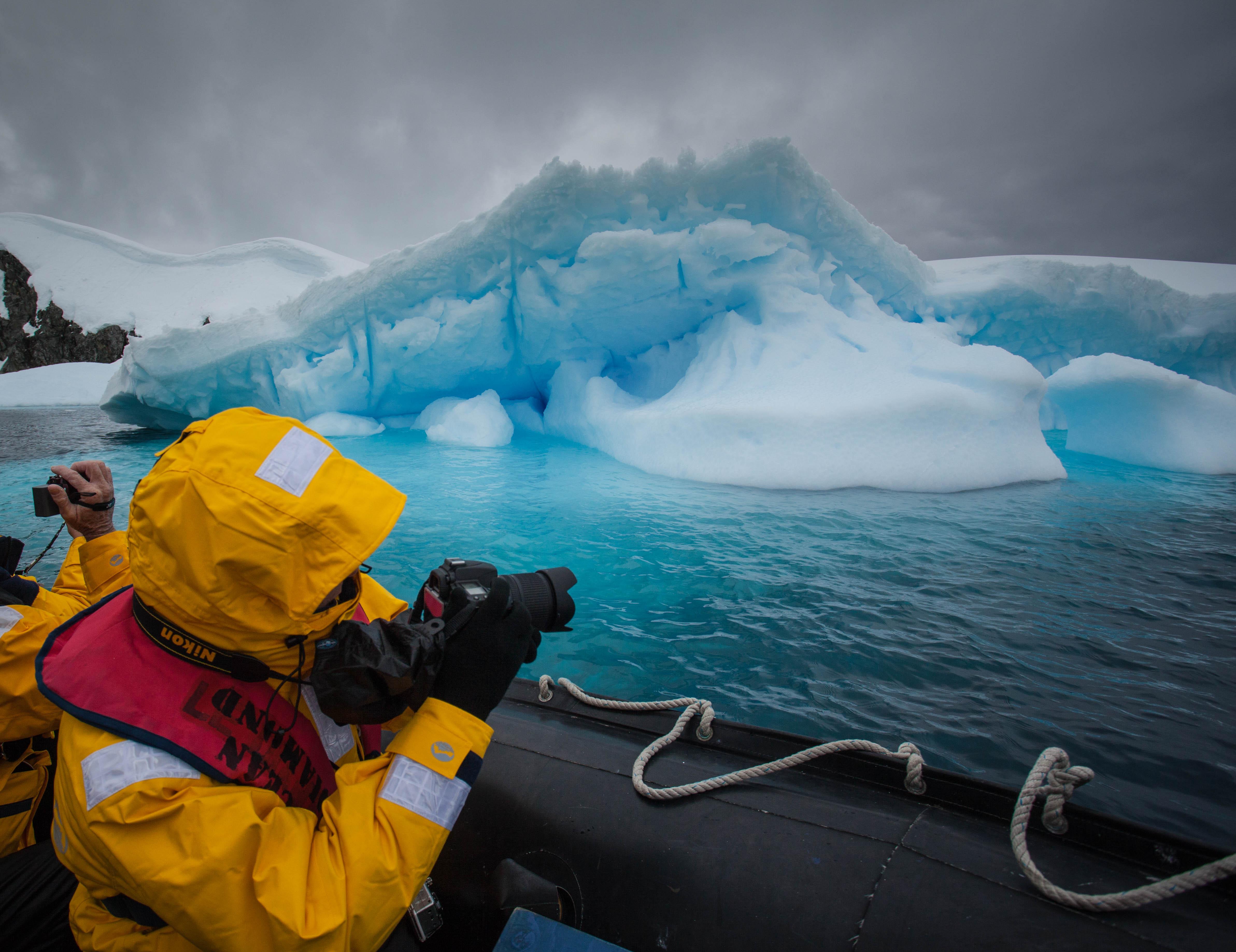 Antarctic Expedition Iceberg