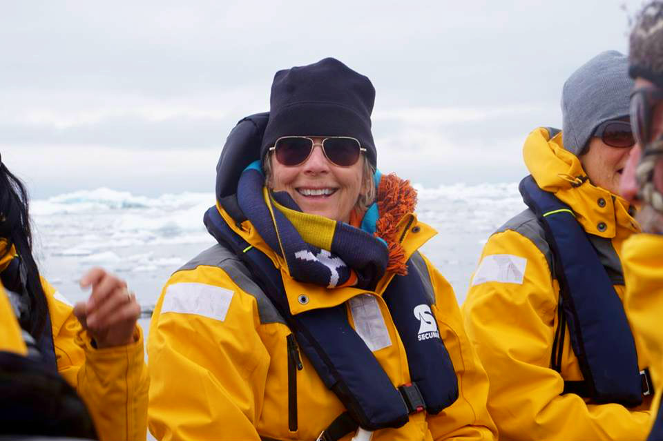 Quark Expeditions passenger KT Budde-Jones