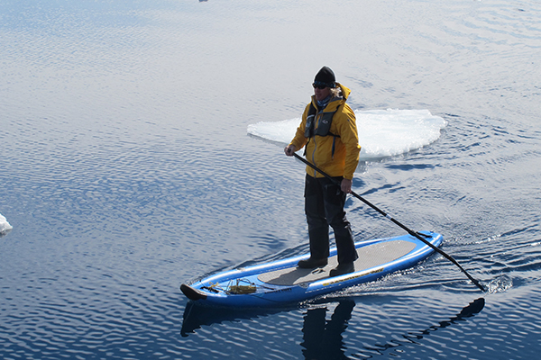 When you book the SUP program with Quark Expeditions, you know an experienced guide will help your group gear up and prepare for the stand-up paddleboarding experience.
