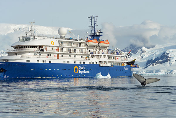 Sea Spirit in Antarctica with Quark Expeditions