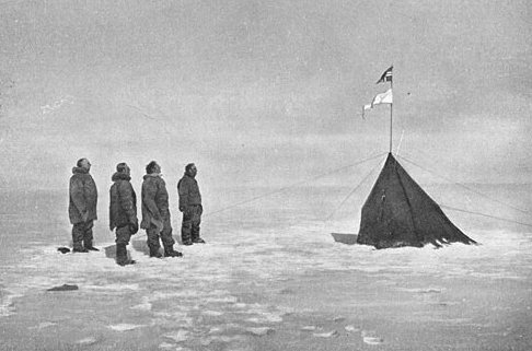 Polheim - Amundsen and Crew at the South Pole