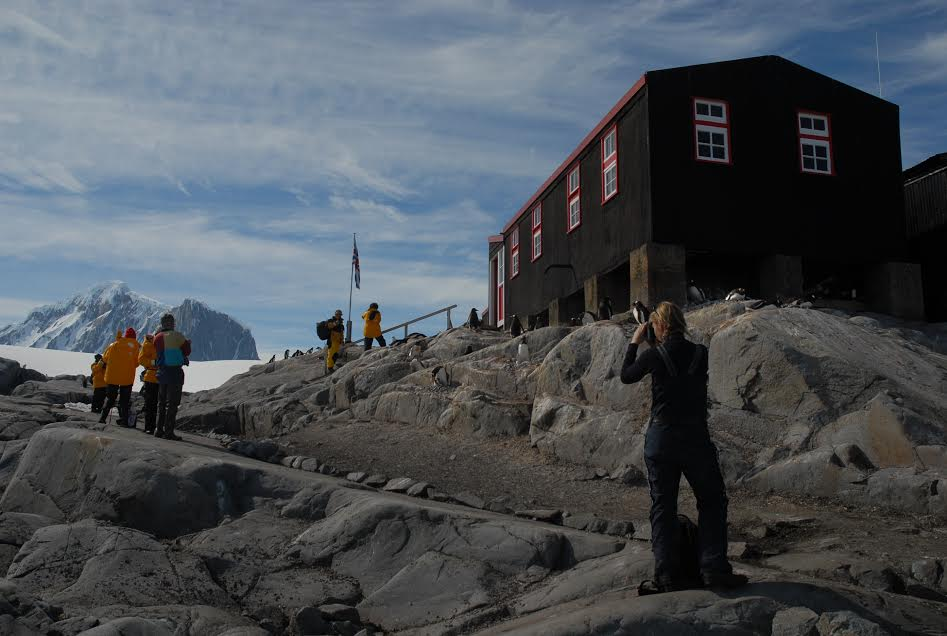 Explore Port Lockroy, Antarctica, and send a postcard home from the Penguin Post Office!