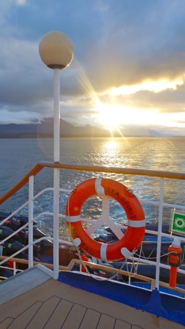 Sea Spirit Departs in Ushuaia