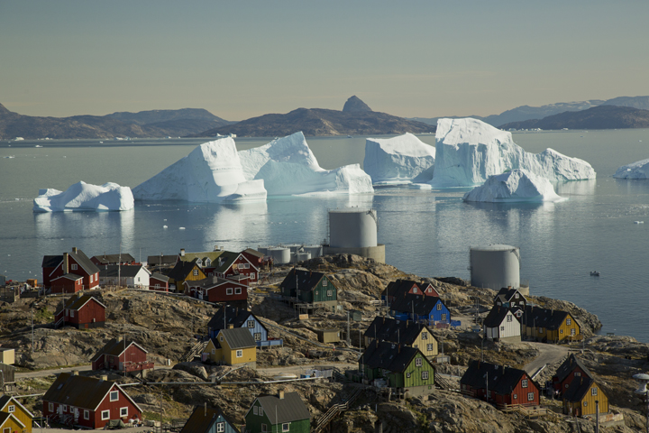 Uummannaq views by Acacia Johnson
