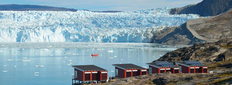Stay in a hut - Photo credit: World of Greenland