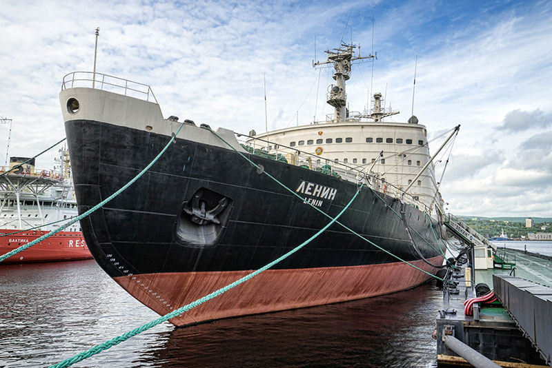 Lenin Icebreaker in Murmansk - Photo credit: Christopher Michel