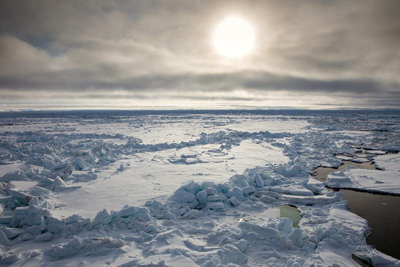 Arctic ice - Samantha Crimmin