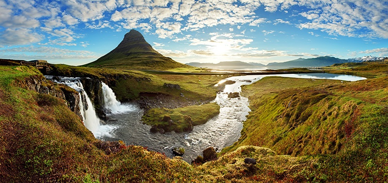 Iceland landscape - Grundarfjordur