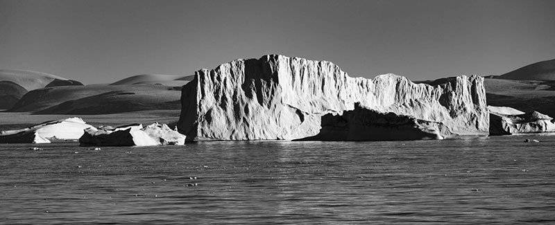 Arctic ice - Photo credit: Quark passenger, 2015