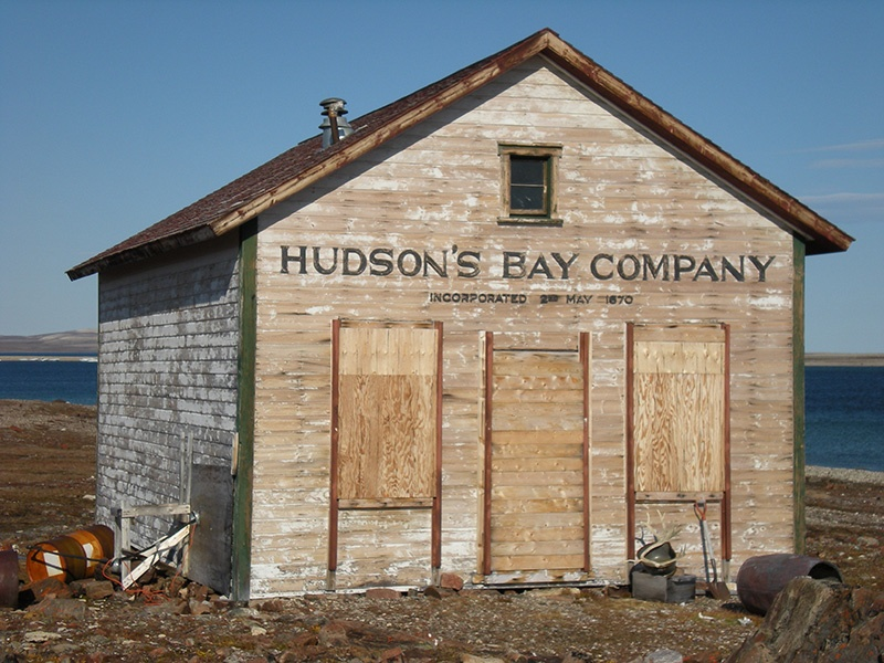 Hudson Bay Trading post