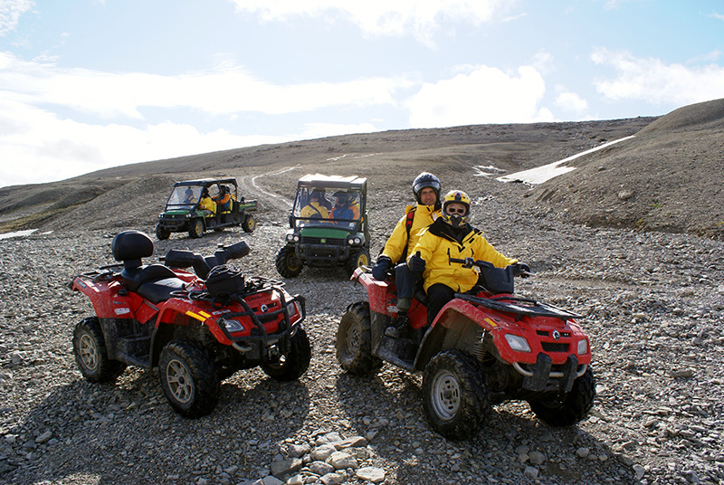 Everything you need to enjoy ATVing at Arctic Watch is included.