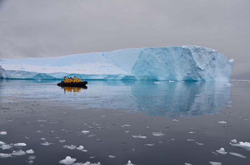Spend more time exploring Antarctica by Zodiac and on guided hikes as part of a small ship expedition.