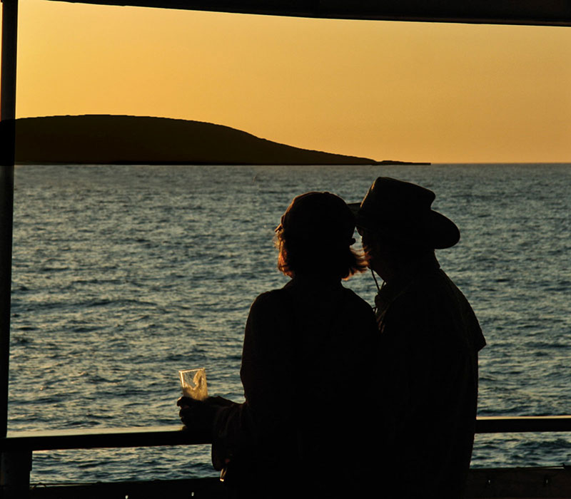 Sunset in the Galapagos - Photo courtesy of International Expeditions