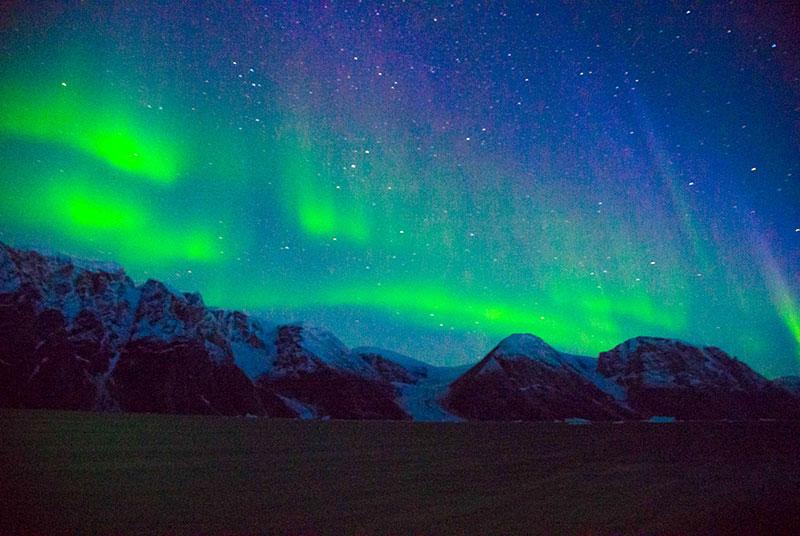 Aurora Borealis in Greenland