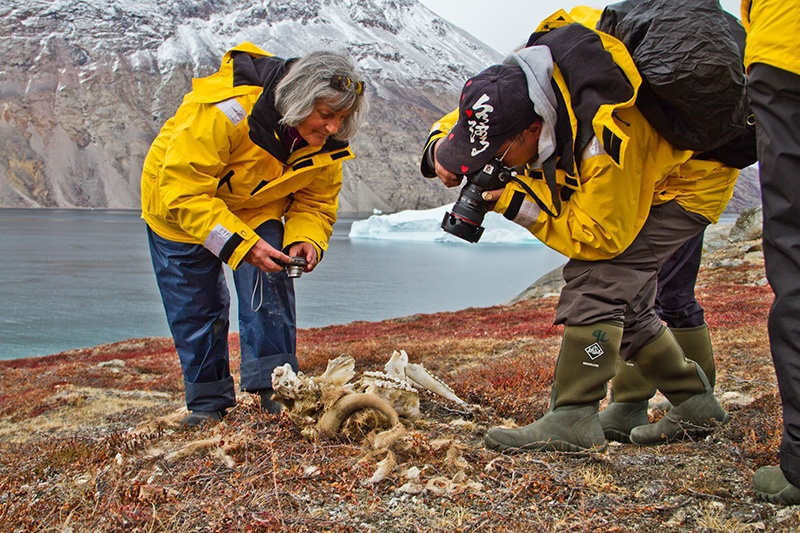Exploring Greenland - Photo credit: Chris King