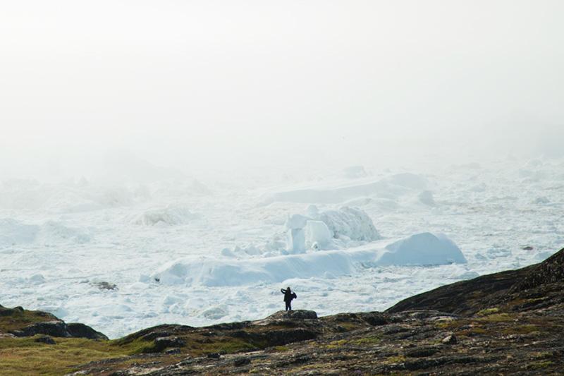 Ilulissat Icefjord by Acacia Johnson