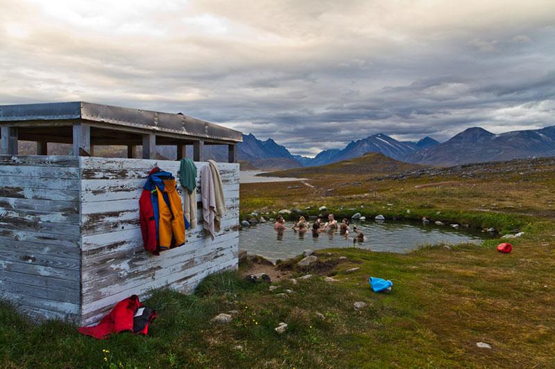 Uunartoq hot springs - Photo credit: C. King