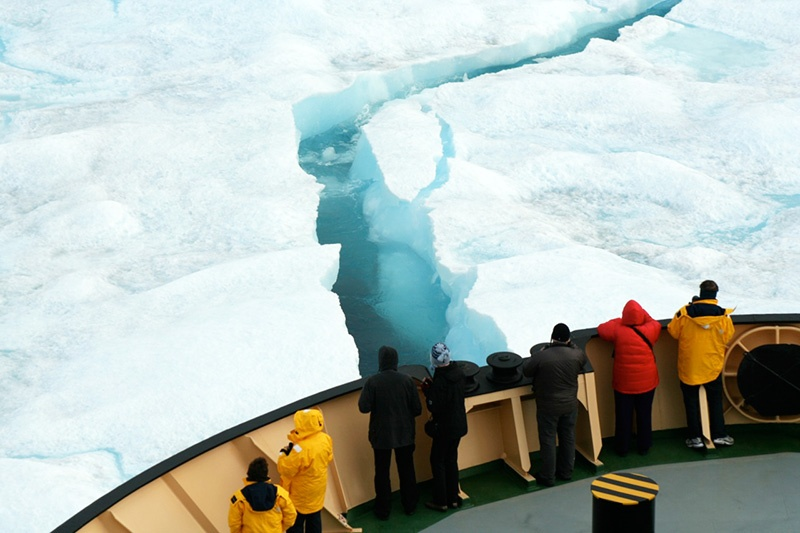 Travel aboard an icebreaker ship is an incredible experience