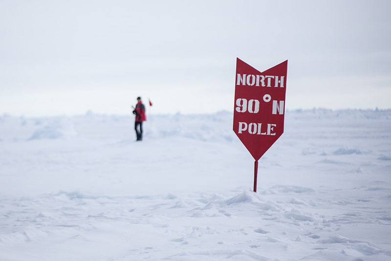 North Pole - Photo by Samantha Crimmin