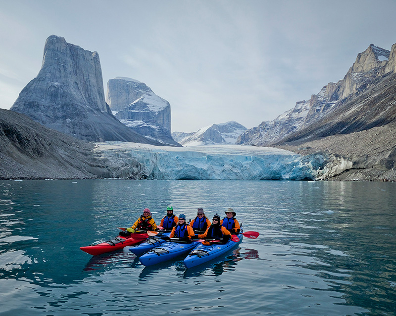 Kayaking in the Arctic with Val
