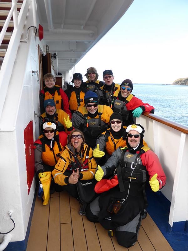 Quark supplies all kayaking gear