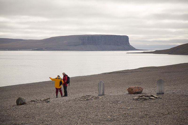 Beechey Island. Photo credit: Acacia Johnson.