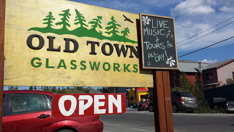 Spend a few extra days in Yellowknife before heading to Arctic Watch Wilderness Lodge. Photo credit: Old Town Glassworks