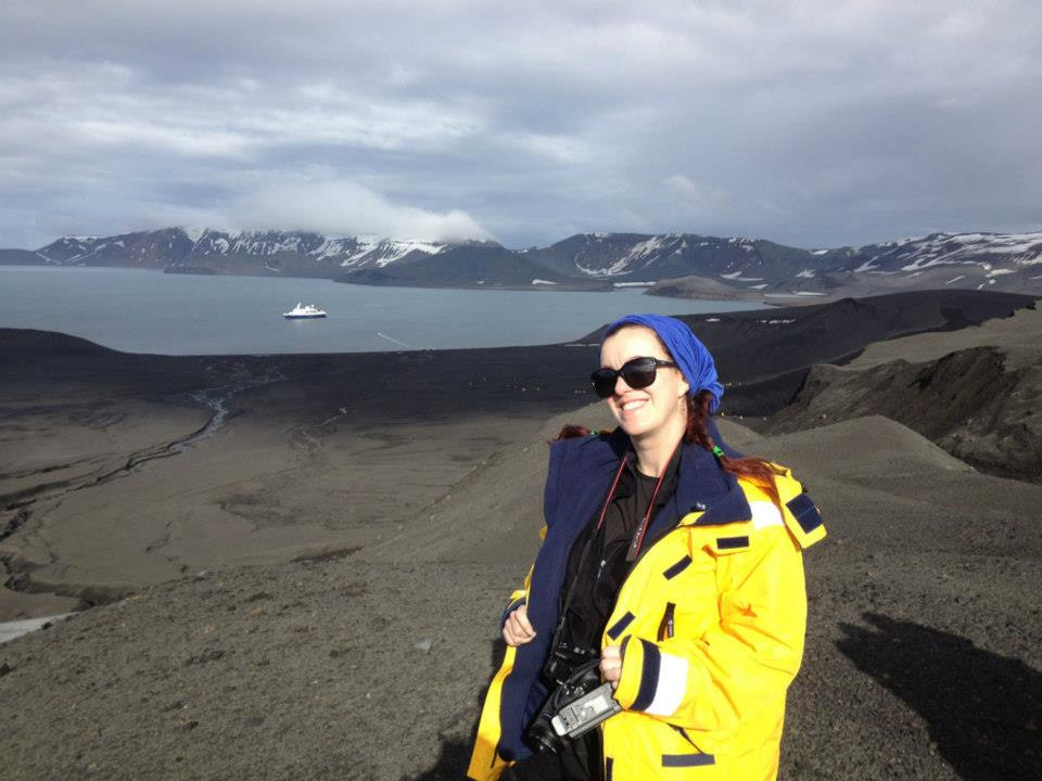 Deception Island by Corina Hitchcock