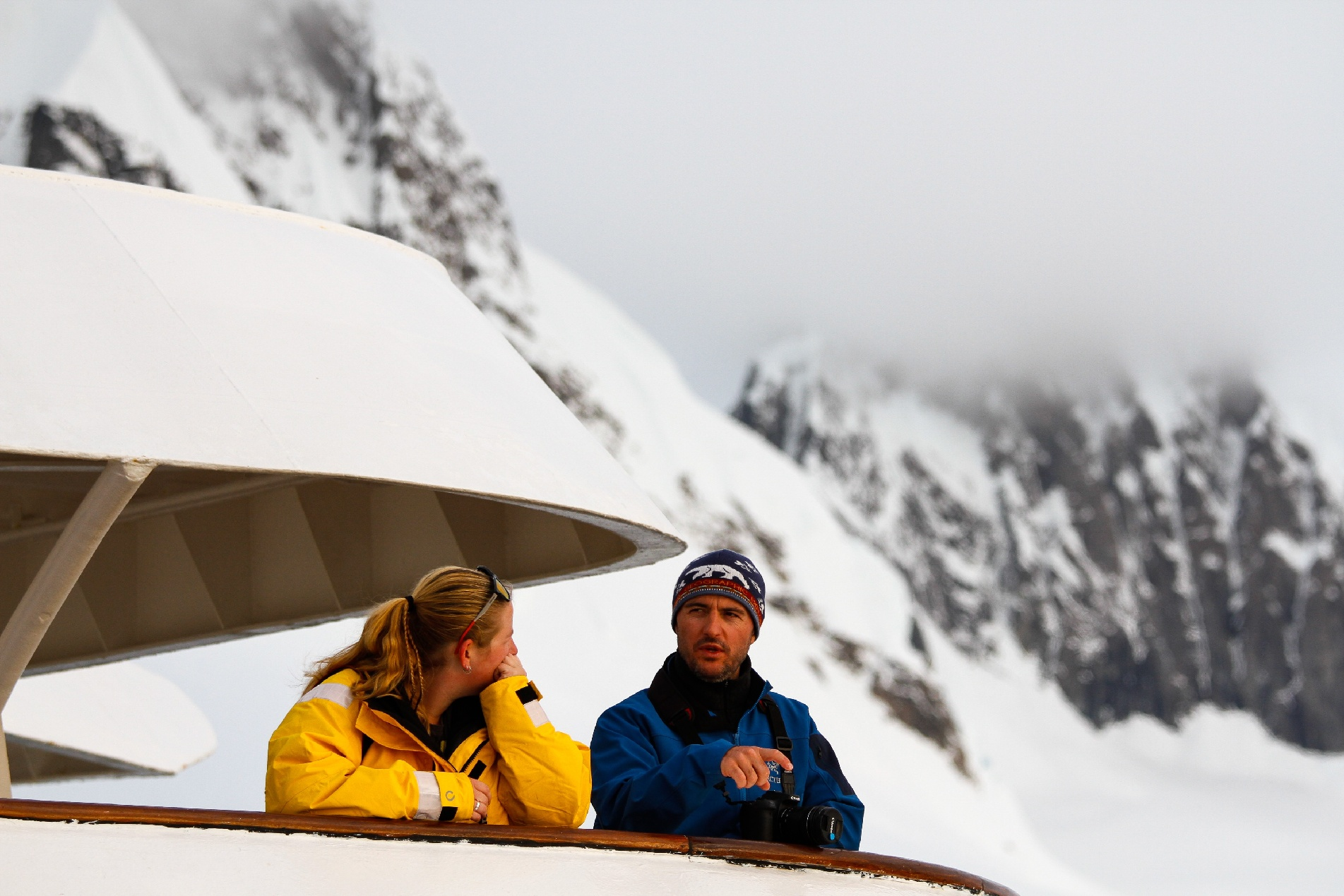 Experienced expedition guides are with you every step of the way to help interpret the sights and sounds of the polar regions.