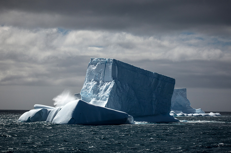 Iceberg in Antarctica by Samantha Crimmin